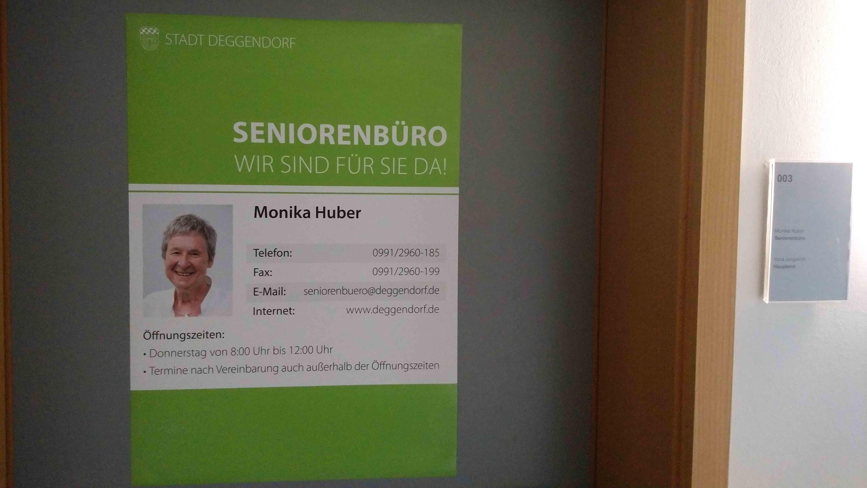 Ein Büro für Senioren im Rathaus von Deggendorf