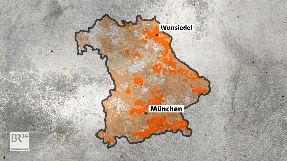 Im Landkreis Wunsiedel besteht eine höhere Gefahr, dass das natürlich vorkommende Edelgas Radon unter anderem Lungenkrebs verursacht.