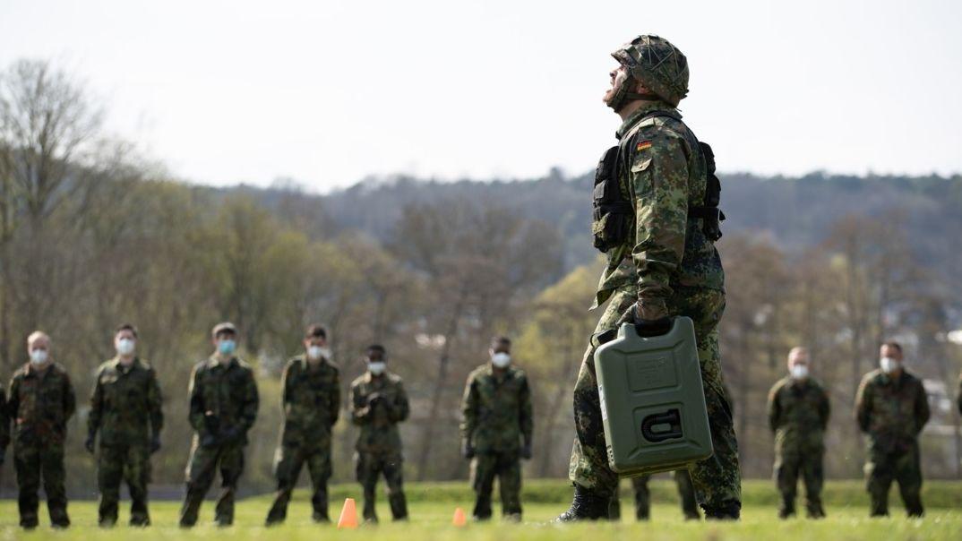 Start der Ausbildung im Freiwilligen Wehrdienst im Heimatschutz