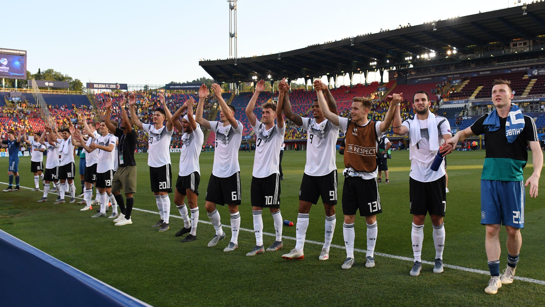 Deutschlands U21 bejubelt den Finaleinzug