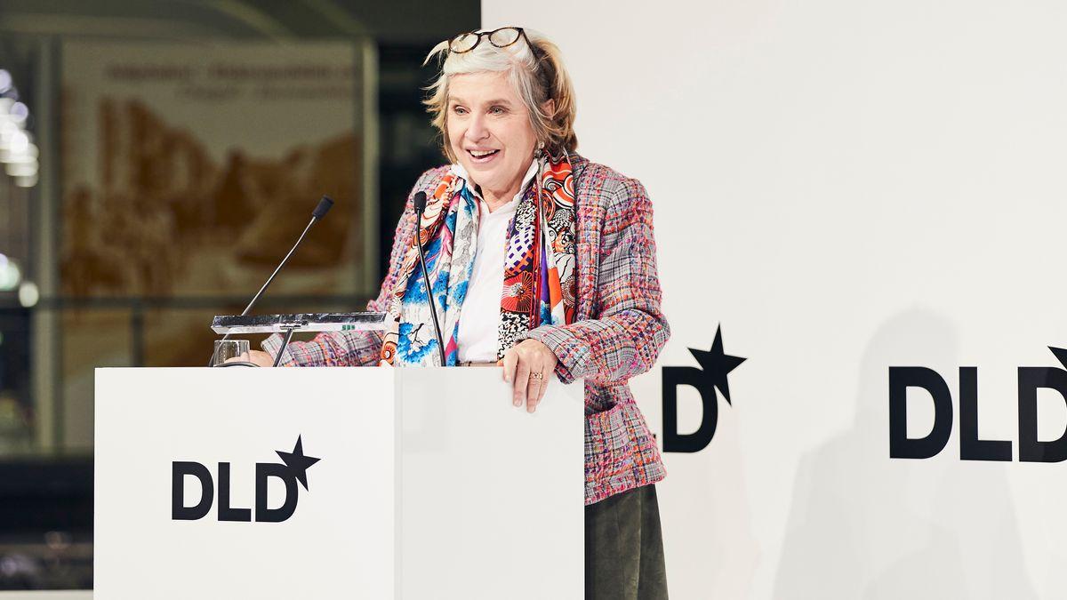 2019 noch mit Live-Veranstaltung: DLD-Gründerin Steffi Czerny
