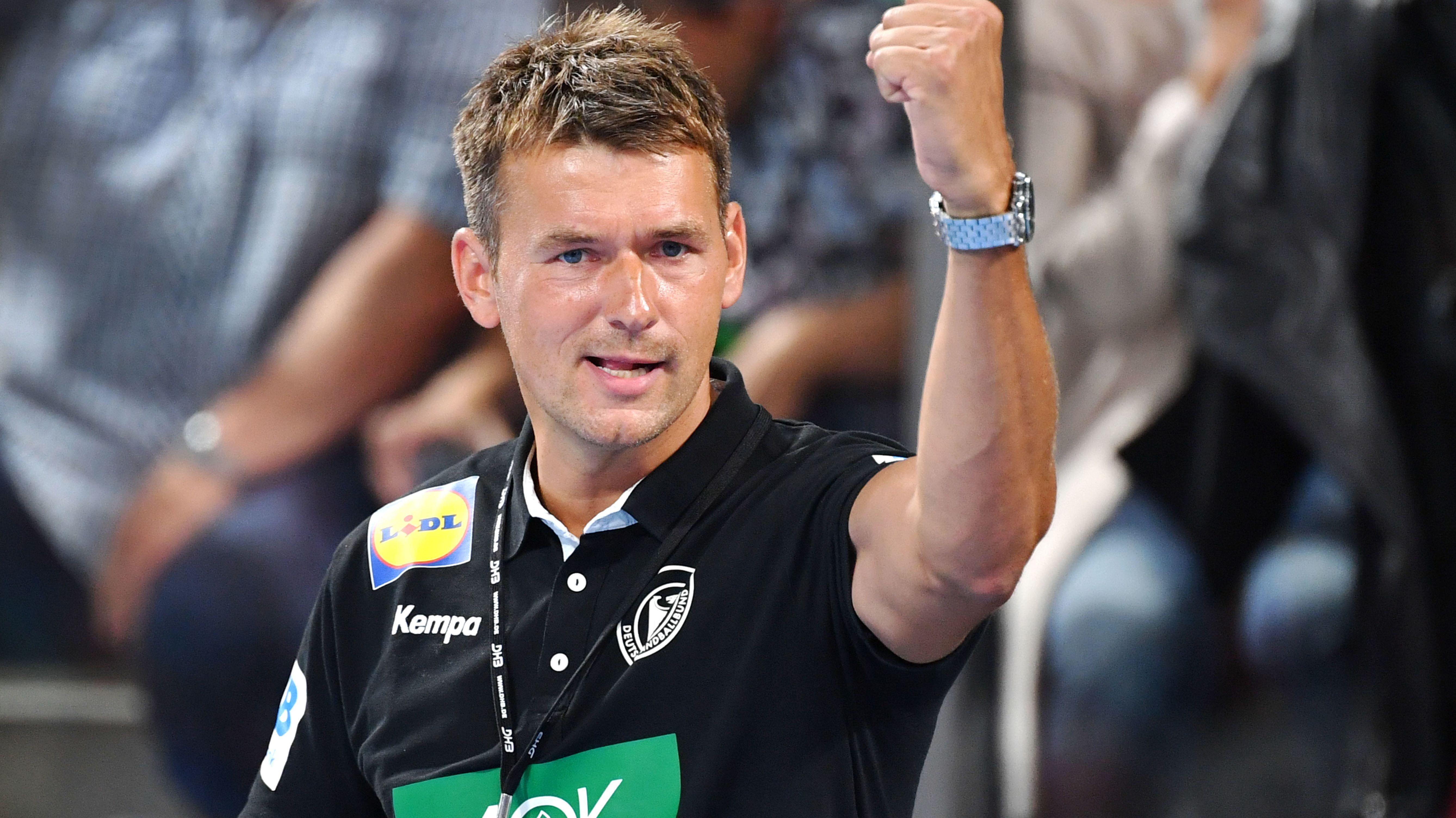 Bundestrainer Christian Prokop