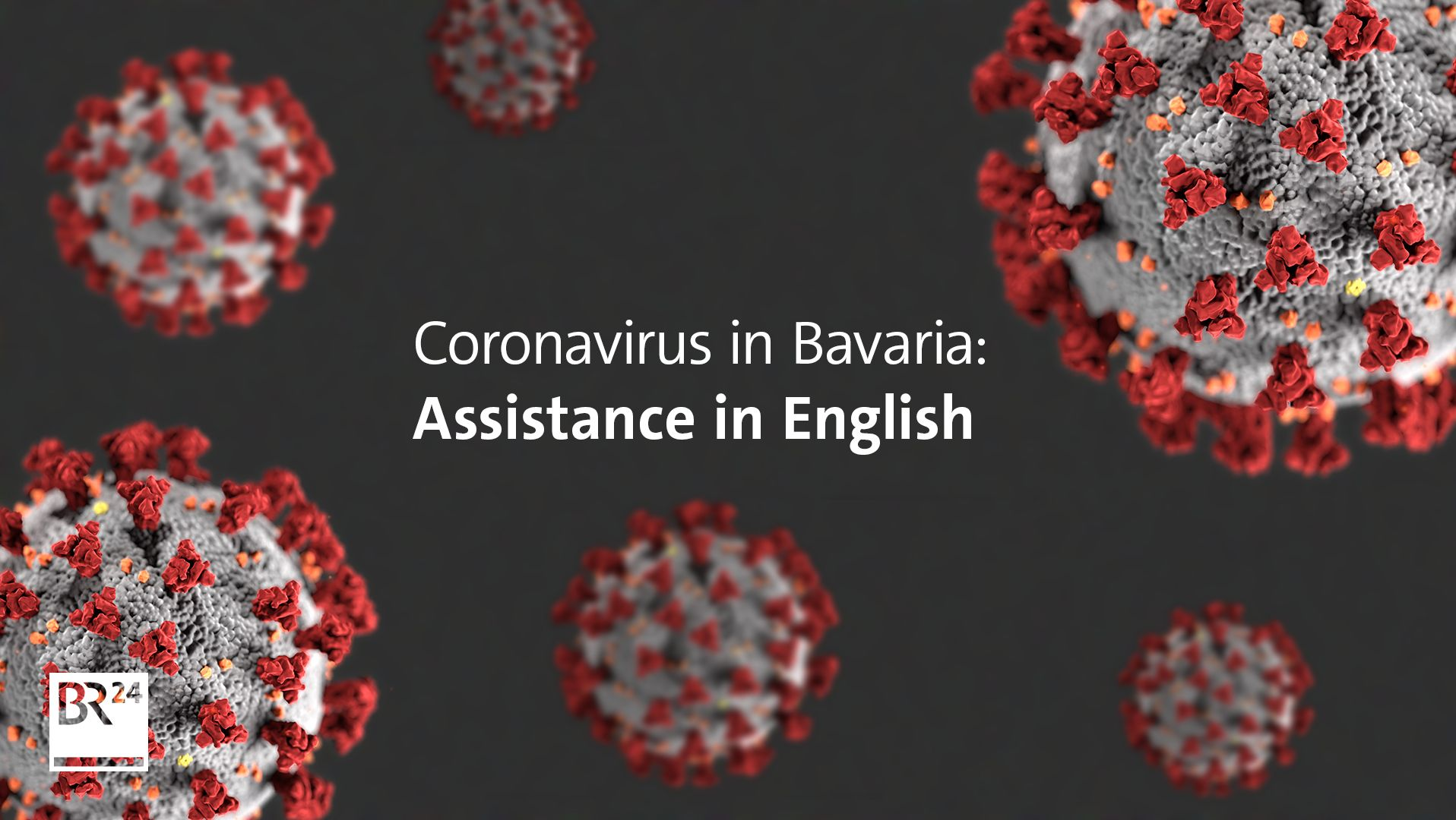 Coronavirus in Bavaria: Assistance in English