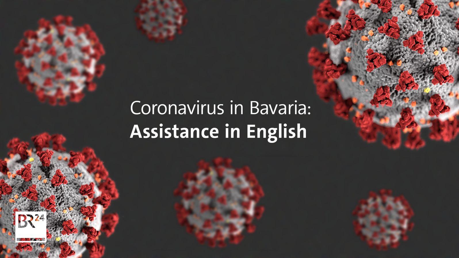 Coronavirus in Bavaria Assistance in English   BR20