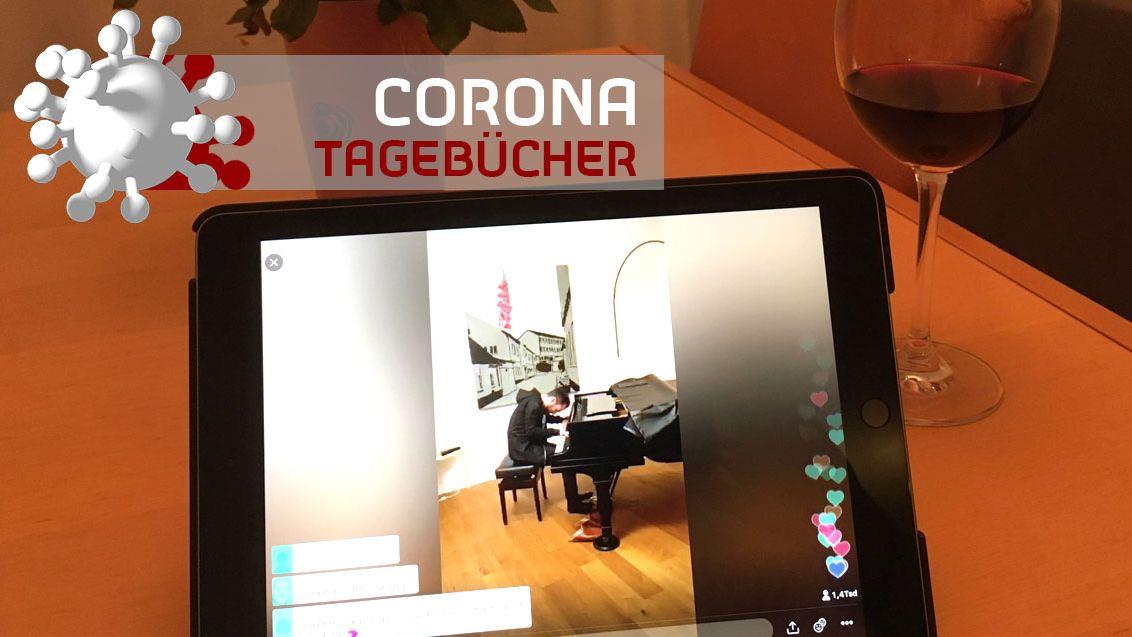 Igor Levit beim Twitter-Konzert