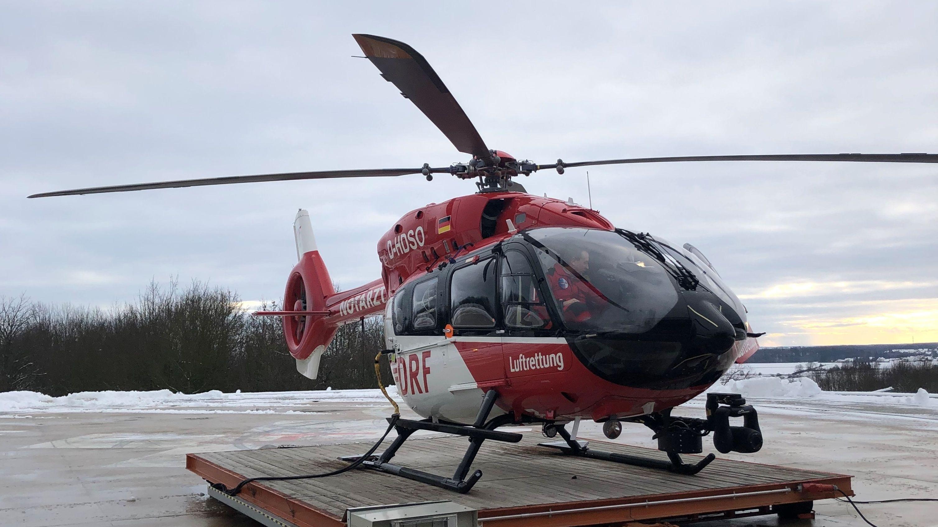 """Hubschrauber der DRF """"Christoph Regensburg"""""""