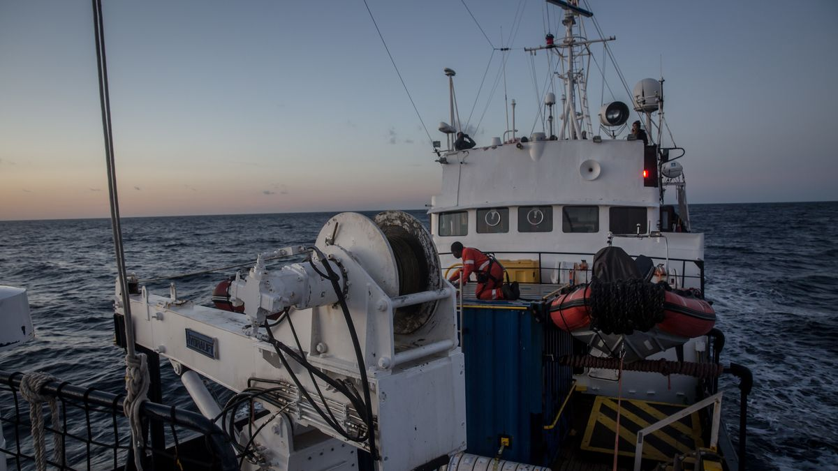 Alan Kurdi, Rettungsschiff der Regensburger Organisation Sea-eye