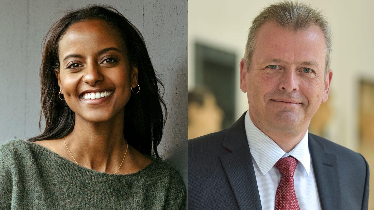 Sara Nuru und Ulrich Maly