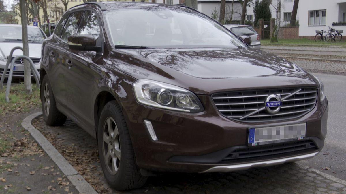 Bei Abgasmessungen dieses Volvo Diesel-SUV sind nach Informationen von BR und Spiegel hohe Stickoxid-Werte gemessen worden.