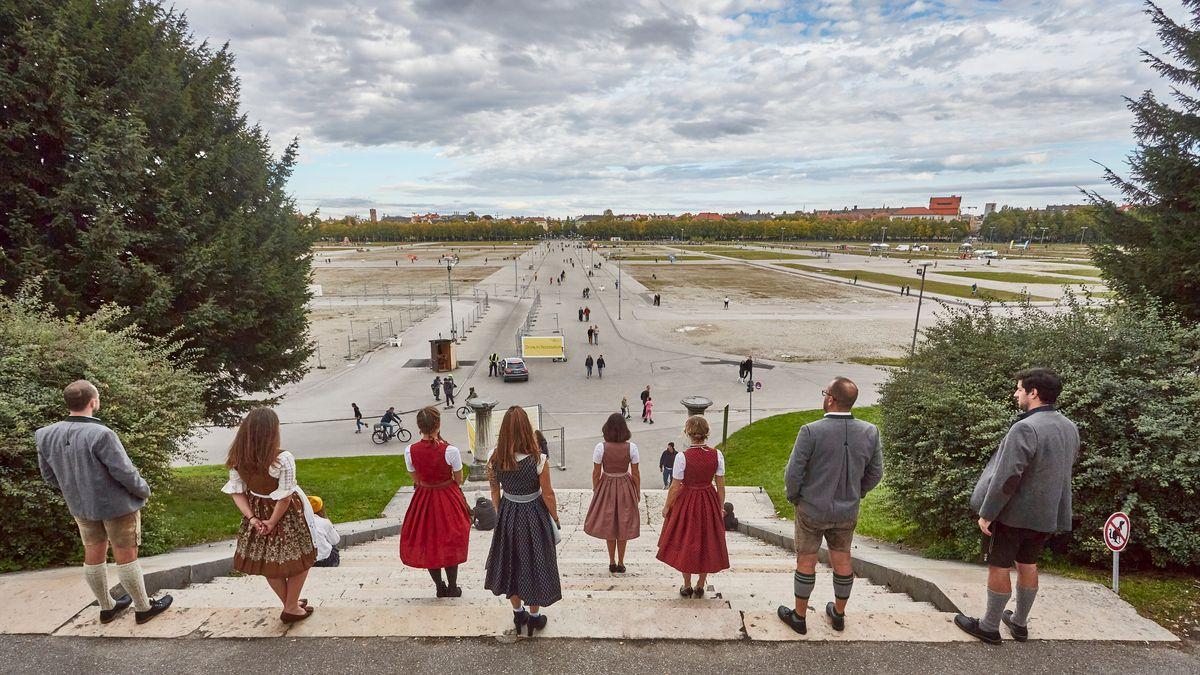 Noch ist unklar, ob es 2021 ein Oktoberfest auf der Theresienwiese geben wird.