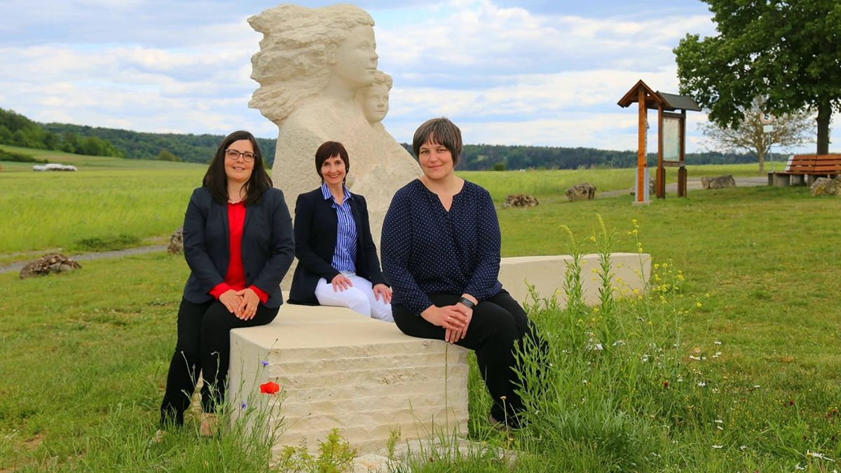 Drei Mitarbeiterinnen der Fachstelle für Demenz und Pflege Oberfranken.