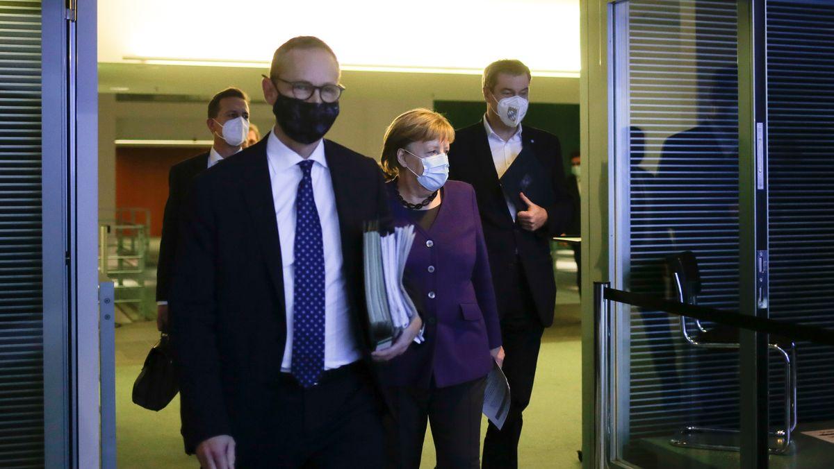 Beratung der Ministerpräsidenten mit Kanzlerin Merkel am 02.12.2020