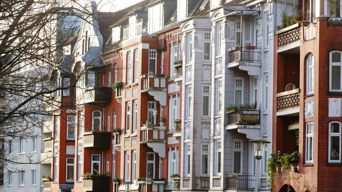 Häuser, in denen sich Mietwohnungen befinden