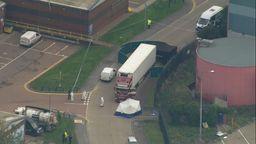 England: 39 Leichen in Lkw-Container entdeckt | Bild:BR