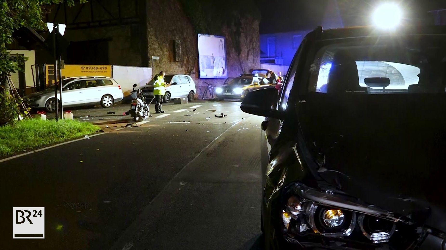 Verkehrsunfall mit Roller in Arnstein