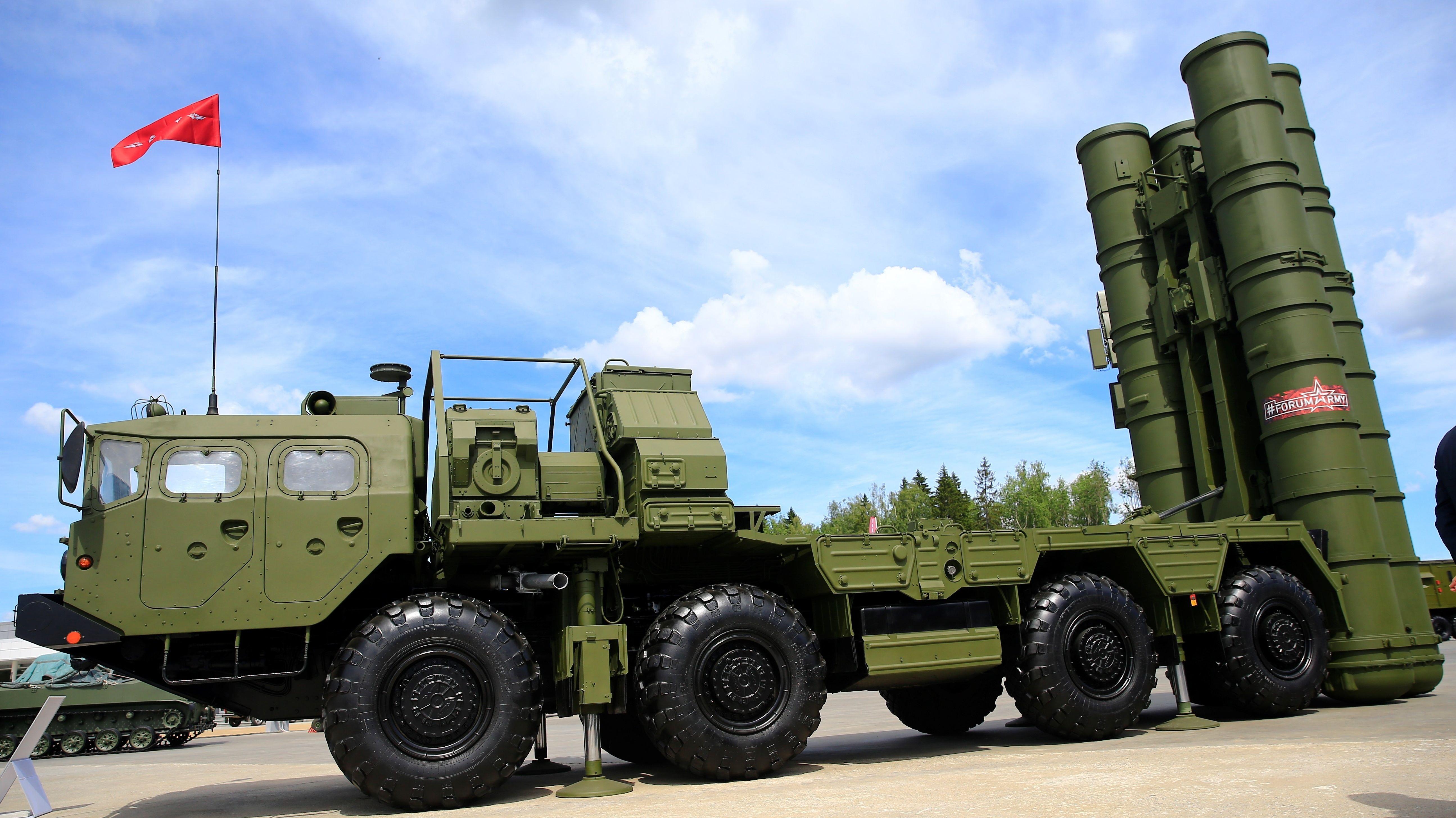 Beispielbild: Russisches Raketenabwehrsystem S-400