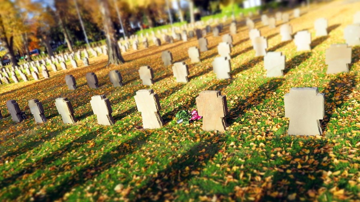 Auch in Bayern ruhen 166 000 Opfer der beiden großen Weltkriege