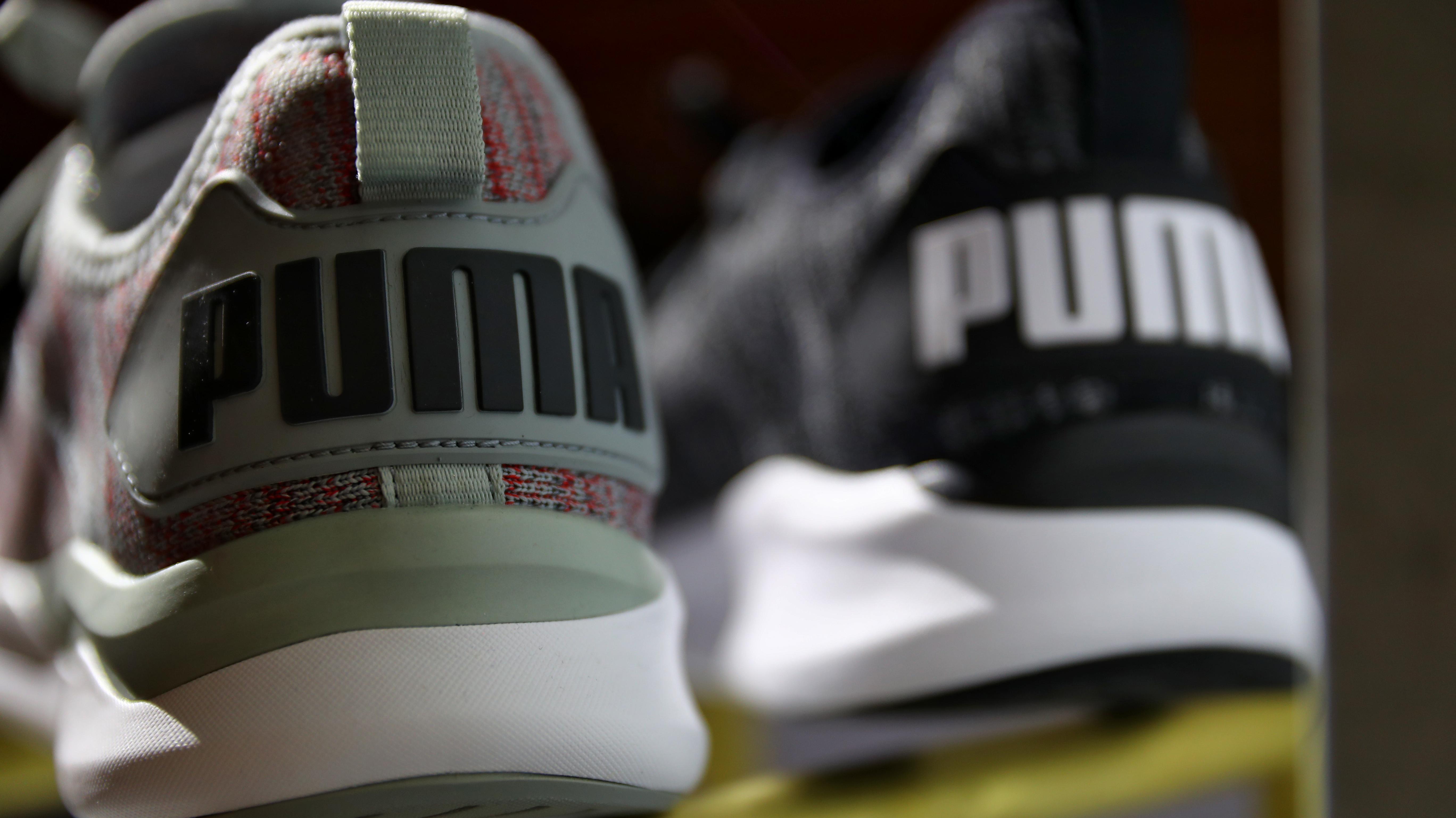 Herzogenaurach: Schuhe des Sportartikelherstellers Puma