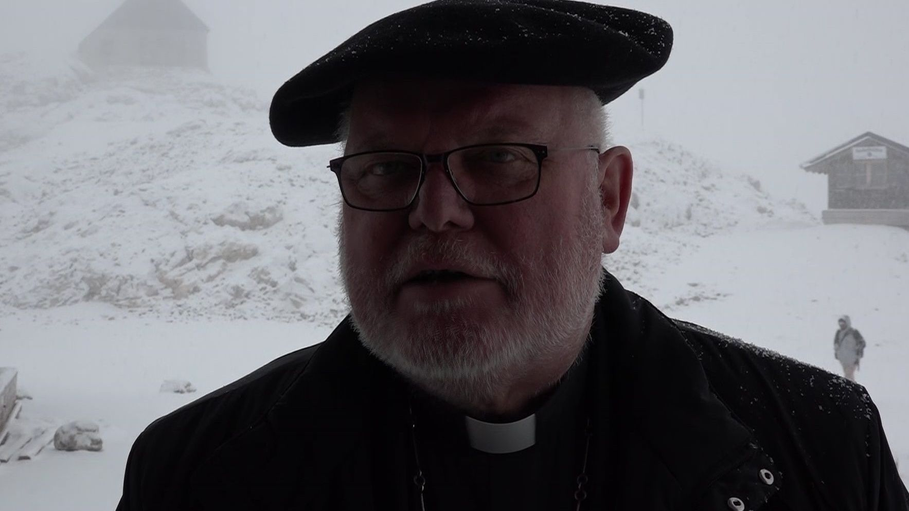 Kardinal Marx auf der Zugspitze