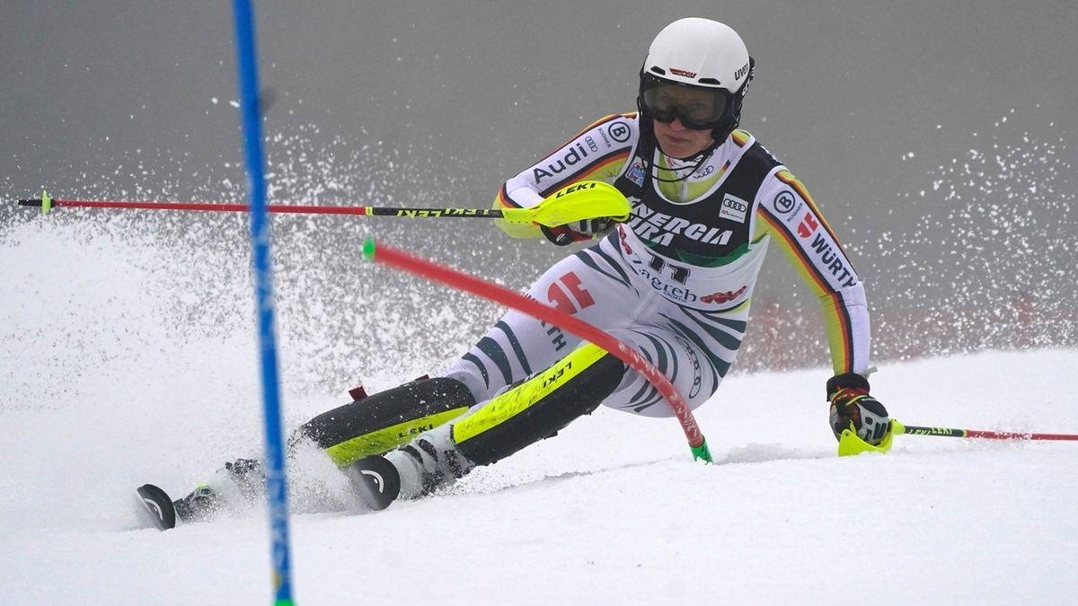 Weltcup - Slalom der Damen in Kroatien