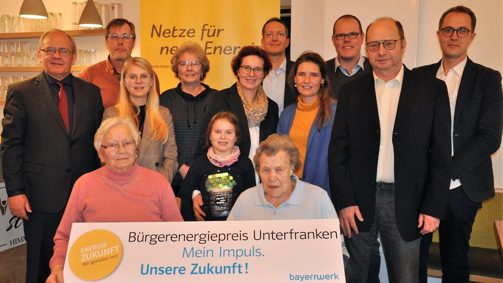 Unterfranken: Startschuss für Bürgerenergiepreis 2020