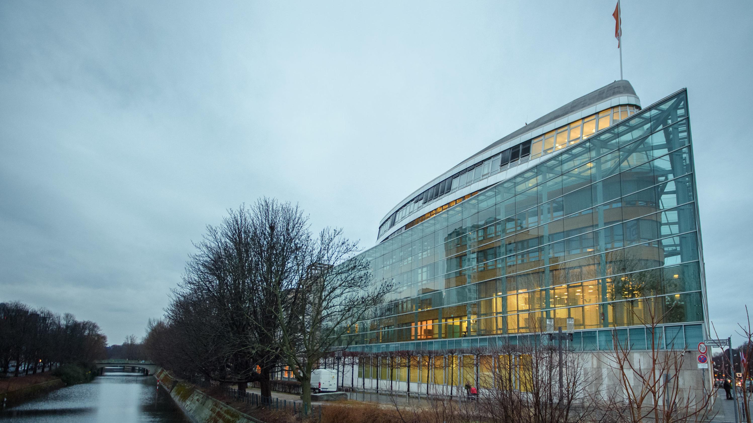 Die CDU-Parteizentrale, das Konrad-Adenauer-Haus in Berlin