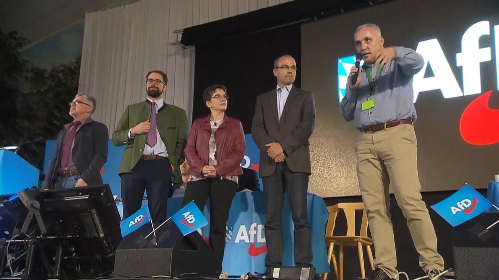 Treffen der AfD | Bild:BR