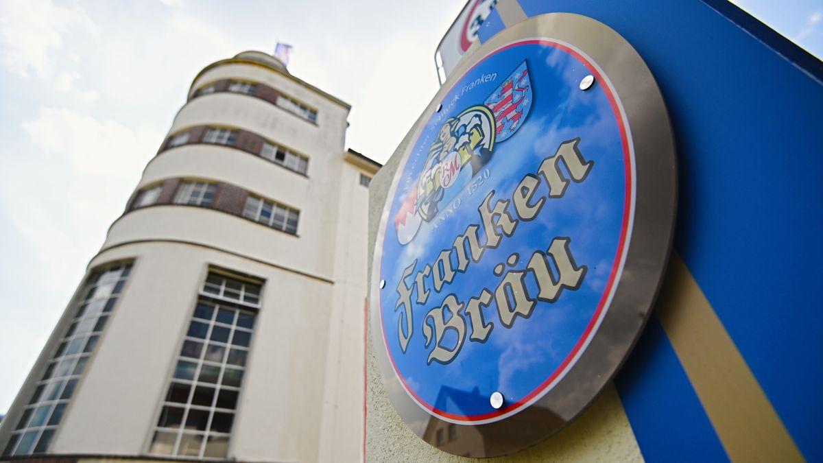 Die Brauerei Franken Bräu in Mitwitz im Landkreis Kronach.