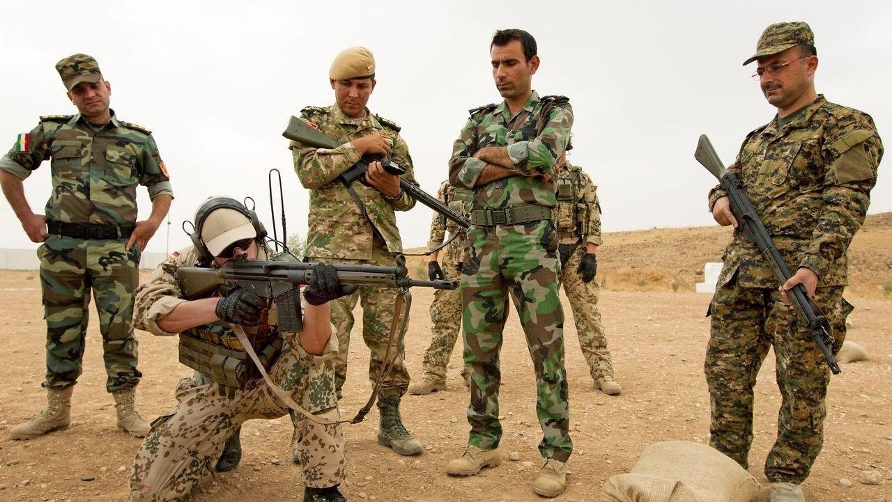 Bundeswehr bei der Ausbildungsmission im Irak