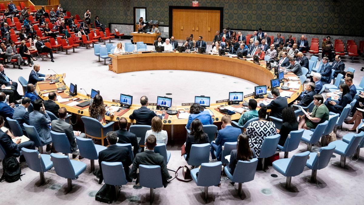 Symbolbild: Sitzung des UN-Sicherheitsrates