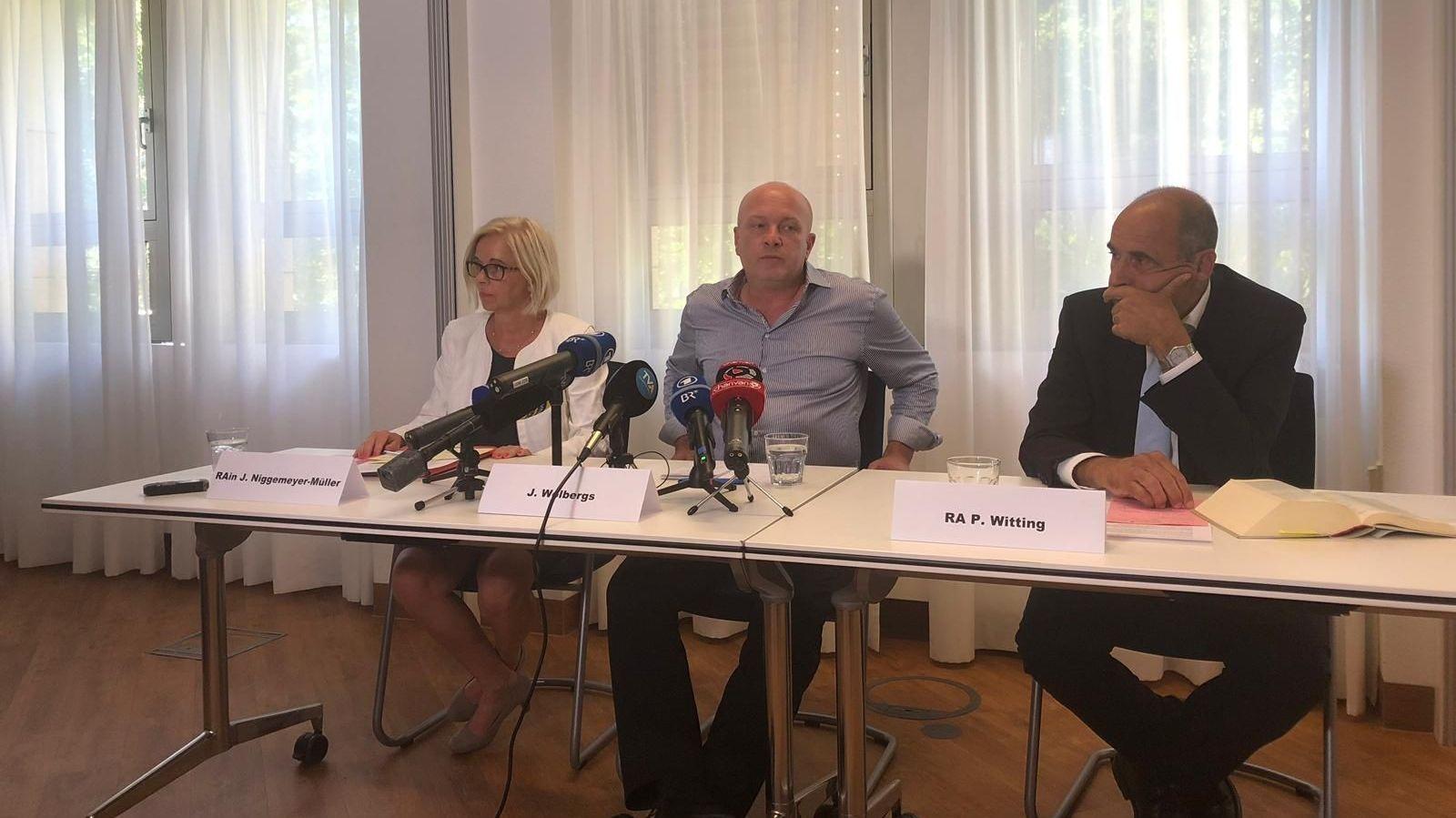 Im Anschluss an die heutige Urteilsbegründung äußerte sich Joachim Wolbergs bei einer Pressekonferenz