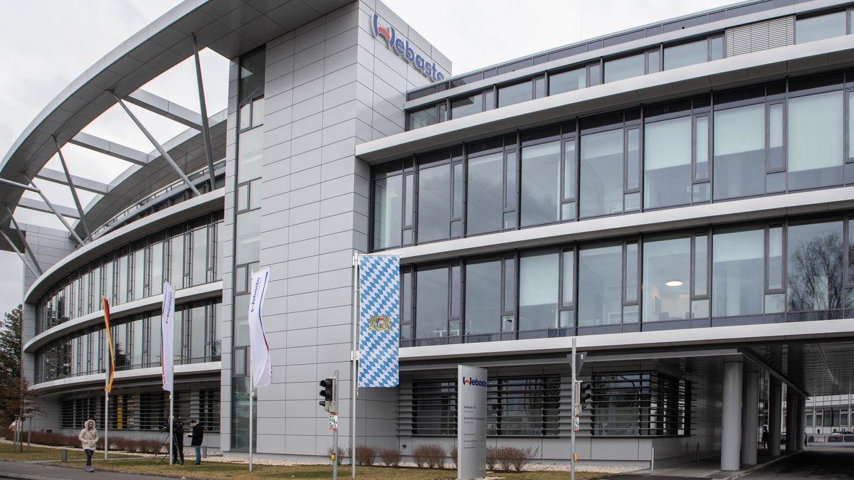 Die Firma Webasto in Stockdorf