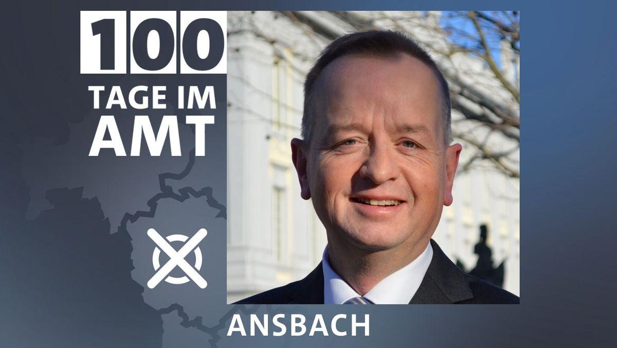 Thomas Deffner (CSU) ist neuer Oberbürgermeister von Ansbach
