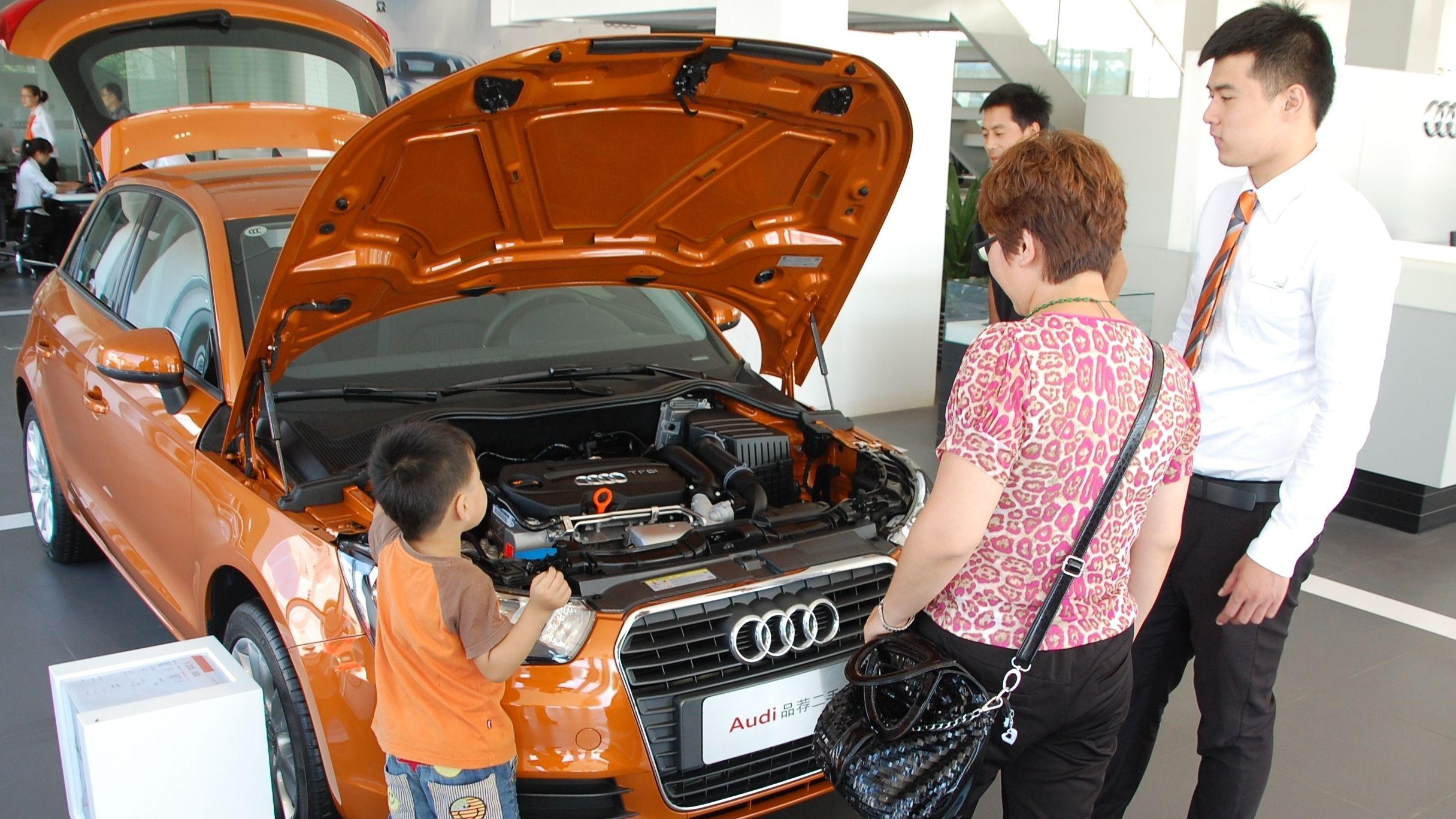 Chinesische Gebrauchtwagenkäufer