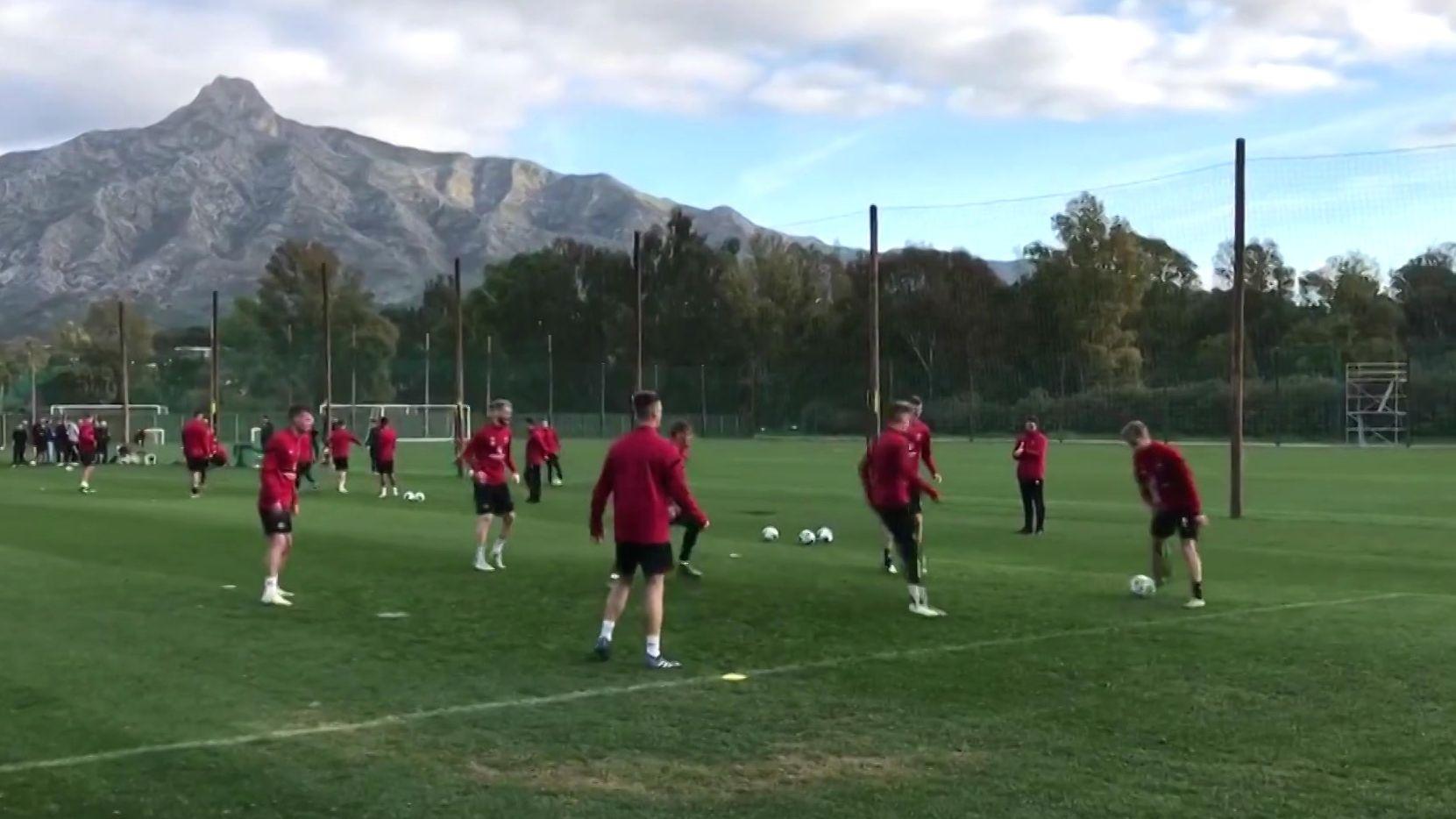 1. FC Nürnberg beendet Trainingslager im spanischen Marbella