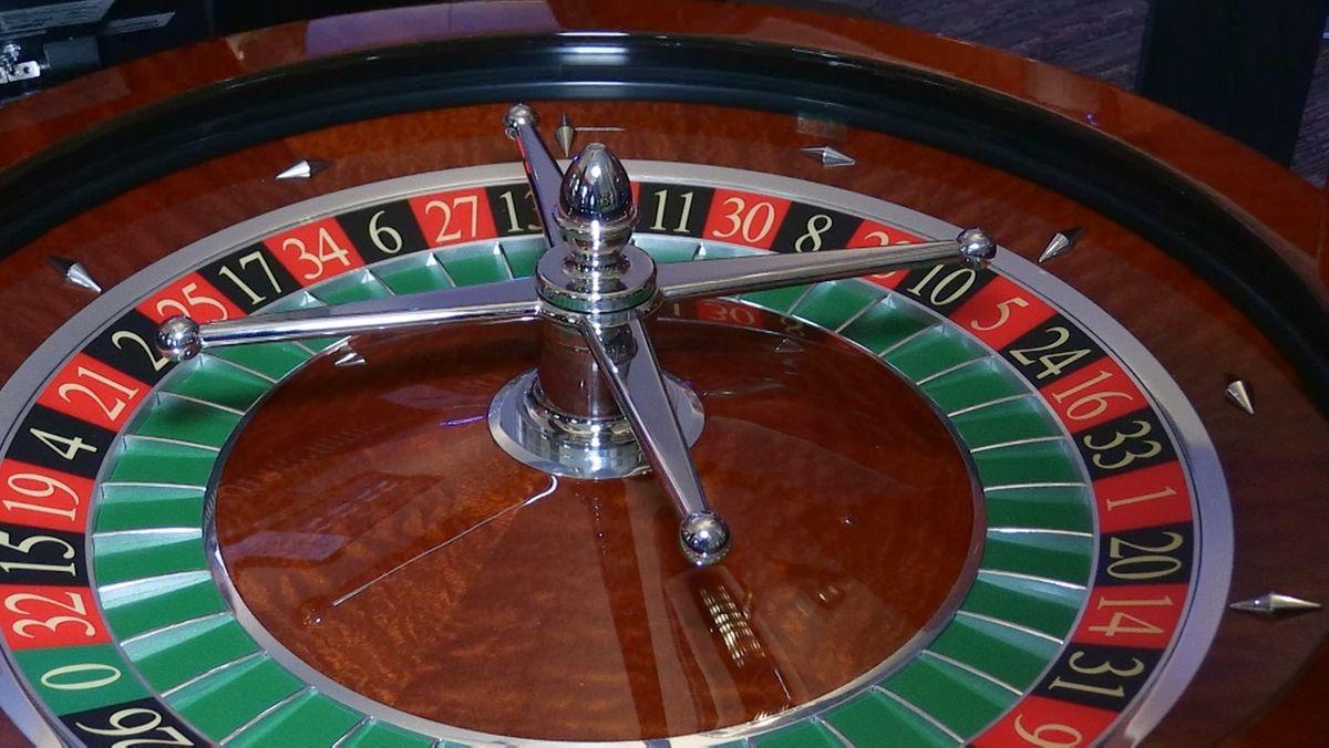 Roulette-Tisch Spielbank Bad Kissingen