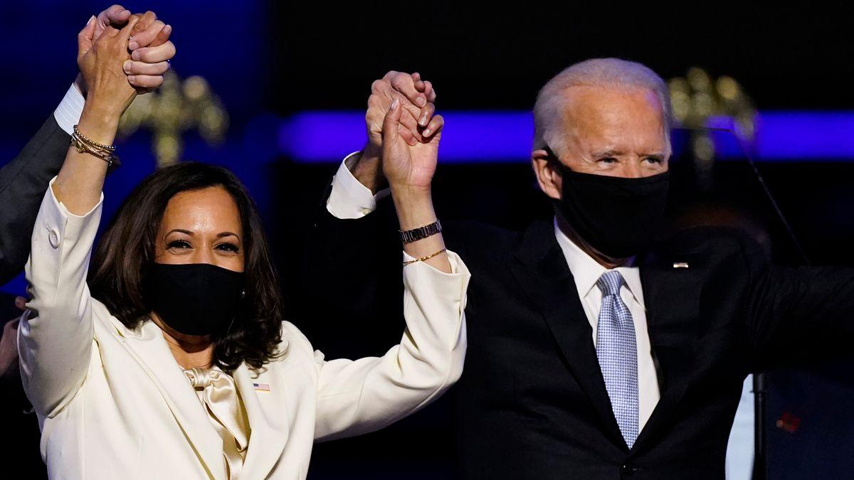 Kamala Harris und Joe Biden