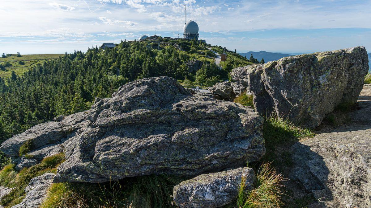 Gipfel des Großen Arber im Bayerischen Wald