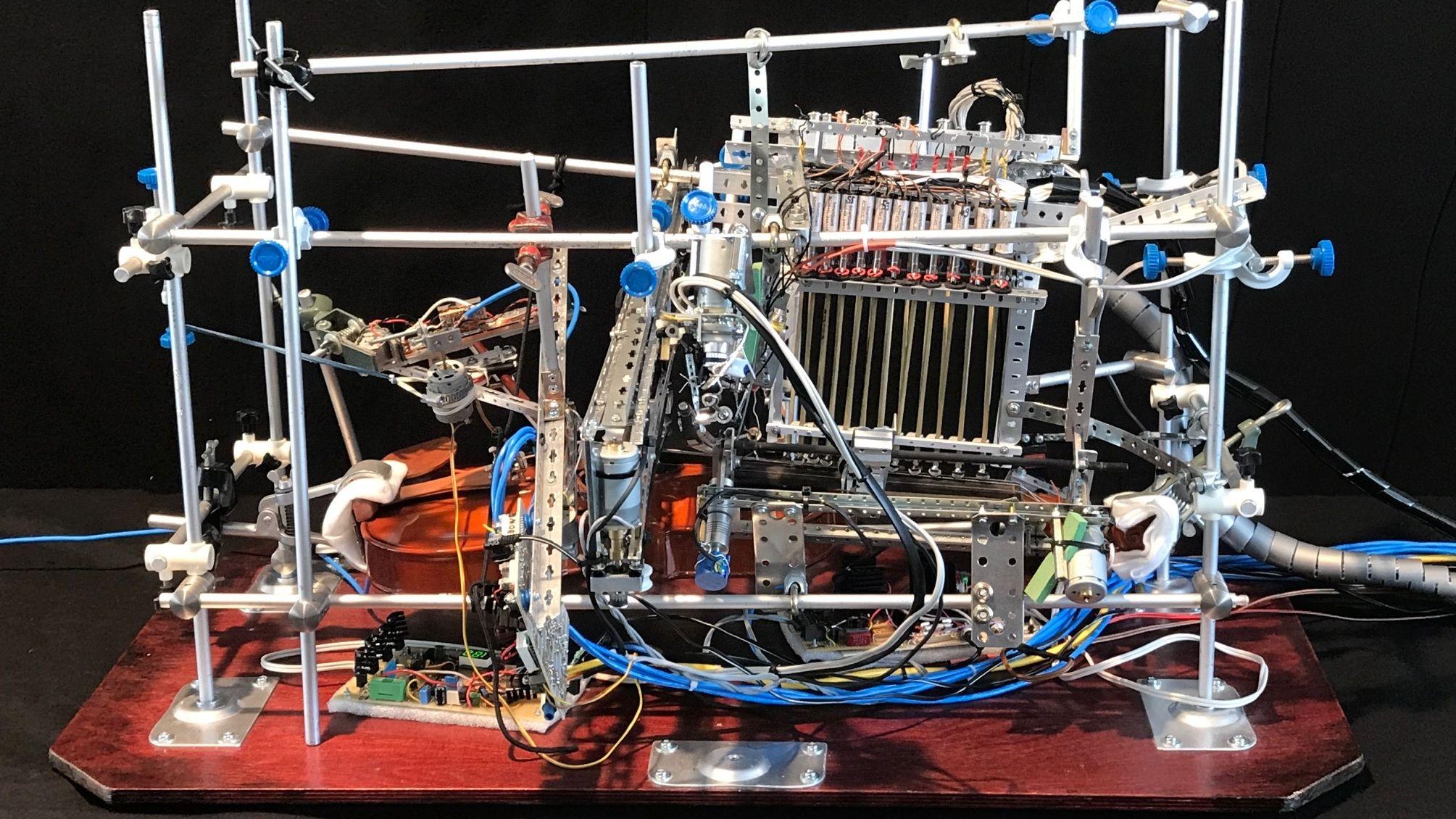 """Violinautomat"" von Karl F. Gerber"