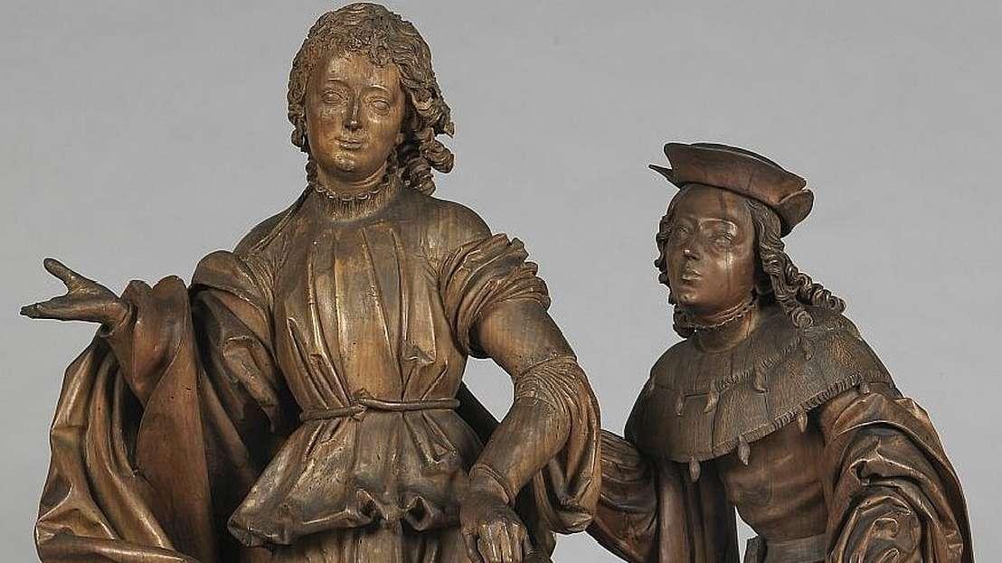 Veit Stoß: Raphael und Tobias