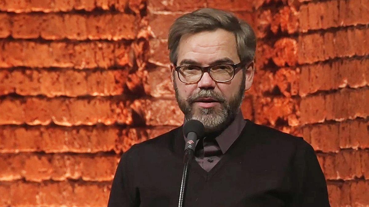 David Wagner beim Bayerischen Buchpreis 2019