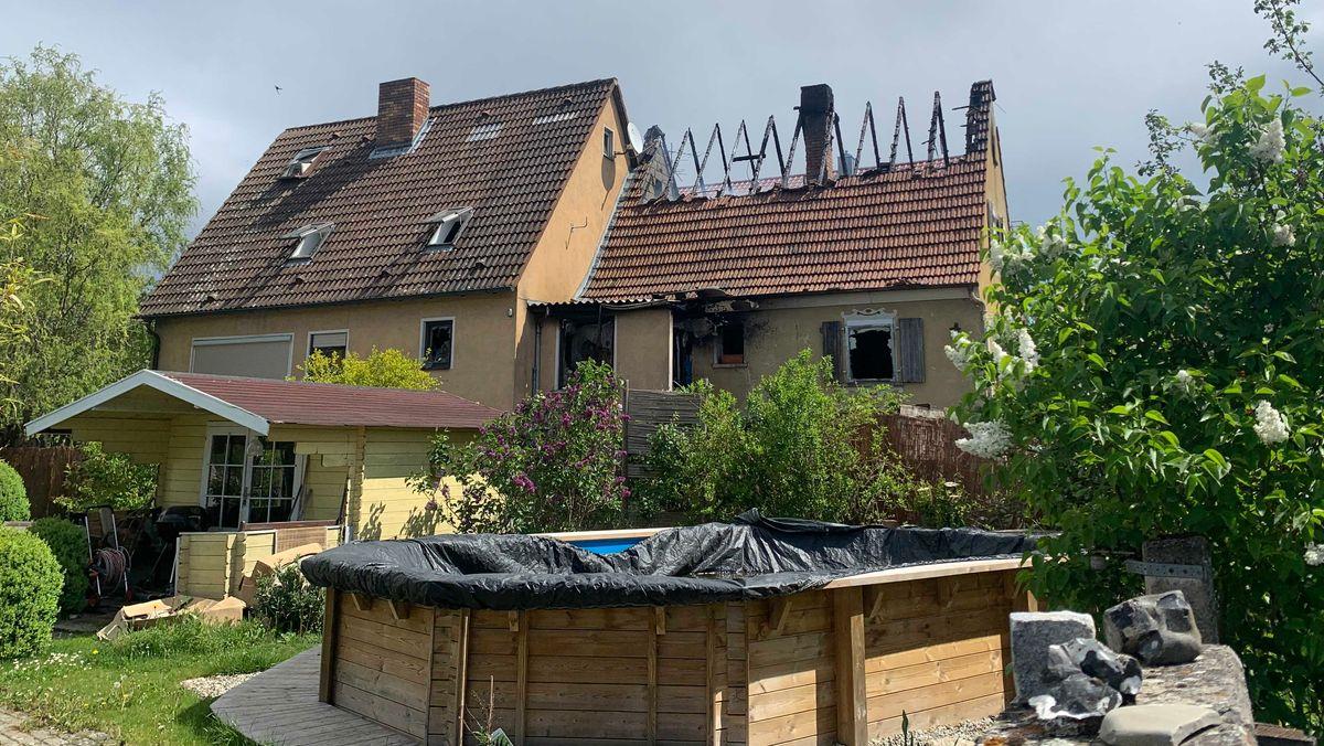 Brand in Waldbüttelbrunn