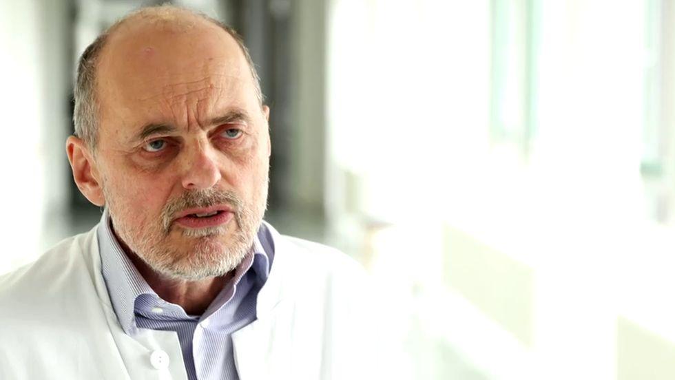 Der Regensburger Infektiologe Bernd Salzberger