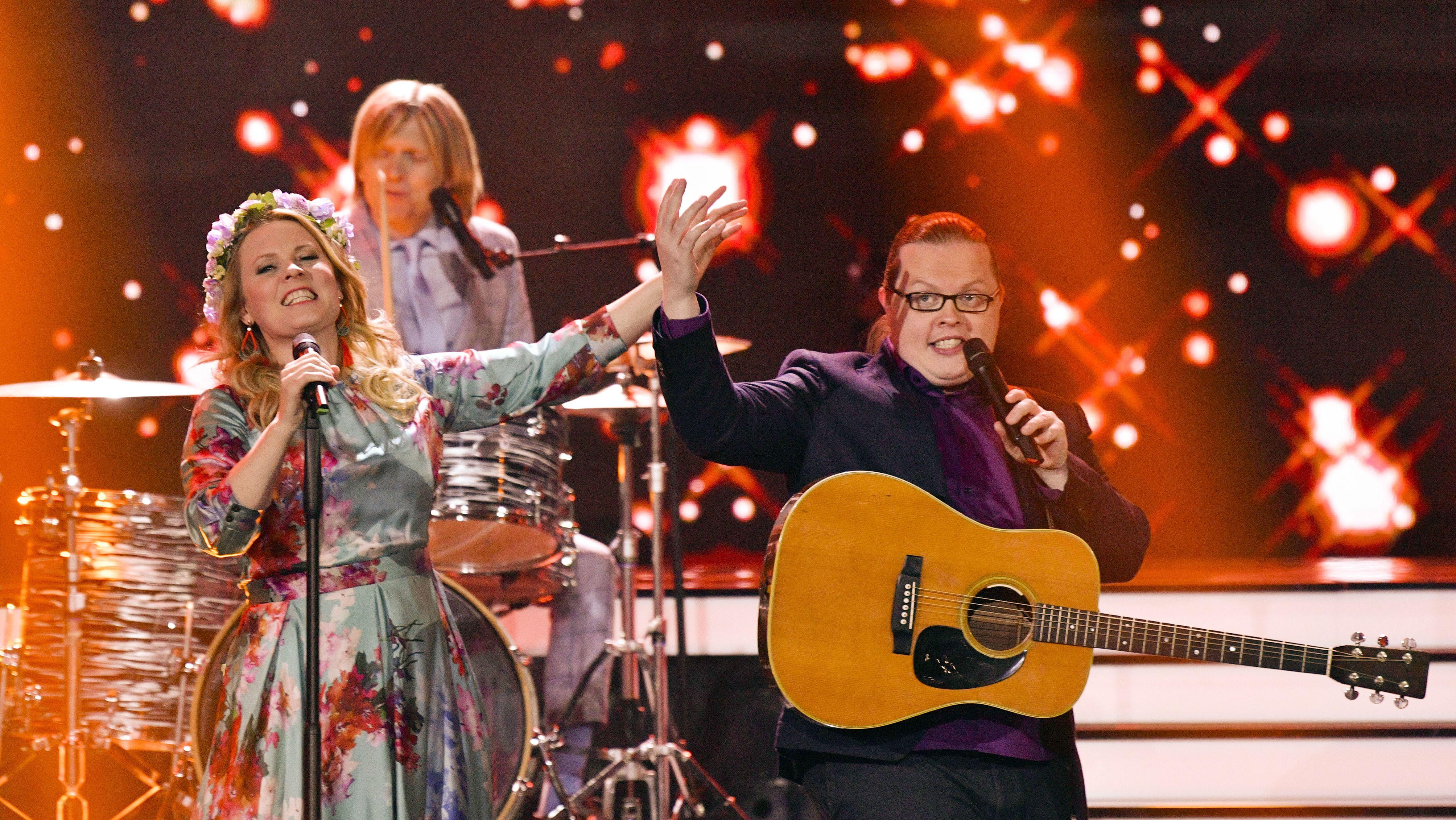 Die Kelly Family bei einem Auftritt im Velodrom in Berlin am 04.05.2019.