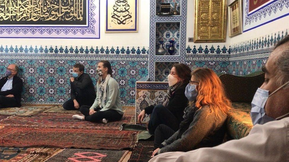 Besucher-Moschee in der Nürnberger Südstadt