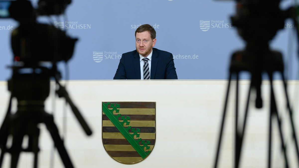 Michael Kretschmer, Ministerpräsident von Sachsen (CDU).