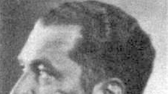 """Historisches Bild von Walter Schultze ordnete mit einem """"Hungererlass"""" die Ermordung von circa 14.000 Patientinnen und Patienten in Bayern an, die nun systematisch durch Kalorienentzug unter ärztlicher Aufsicht totgehungert wurden. Diese Tötungs-Methode aus der Schreibstube des bayerischen Innenministeriums war Vorbild für Patientenmorde in anderen Heilanstalten im damaligen Deutschen Reich."""