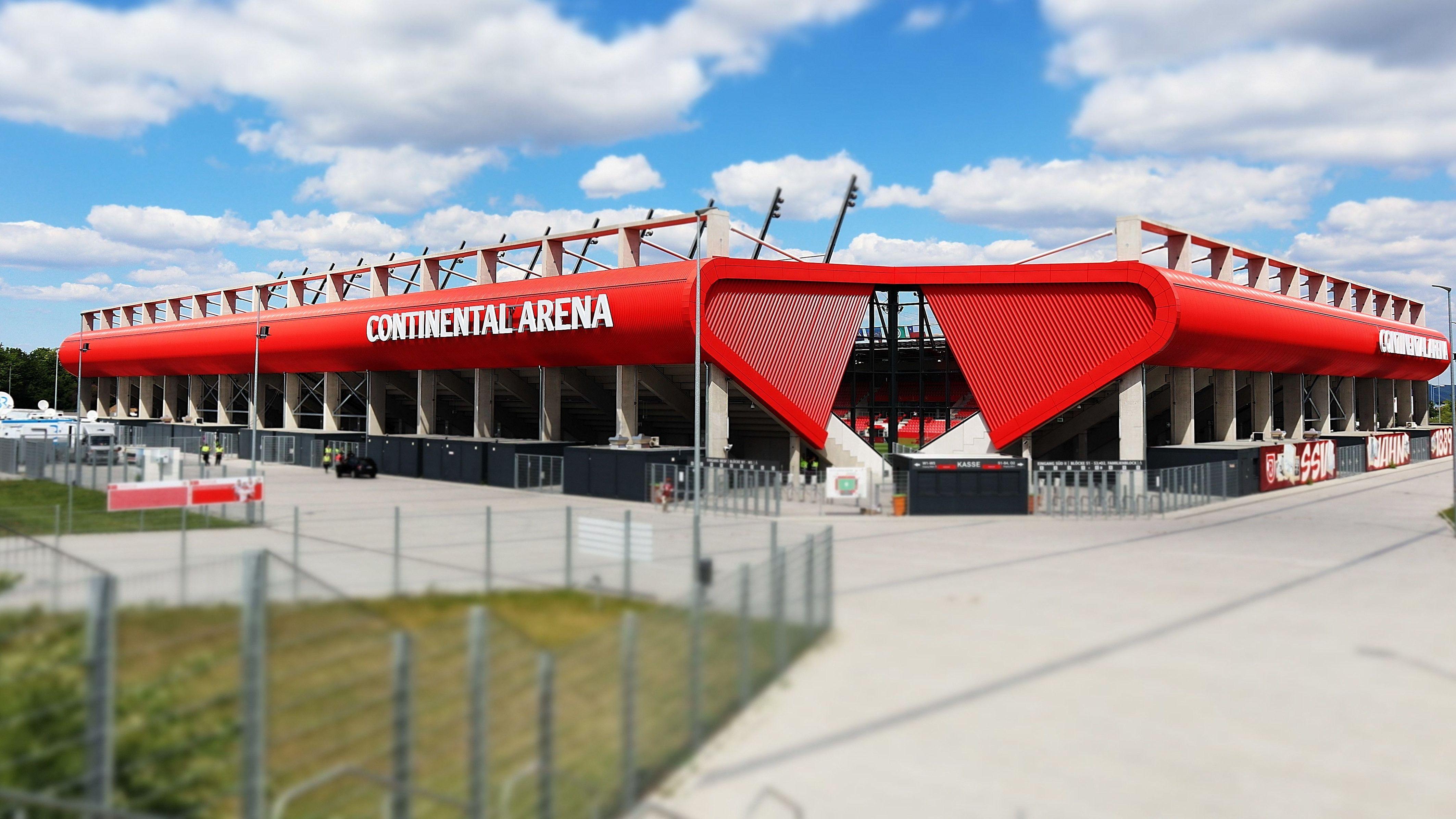 Continental Arena Regensburg.