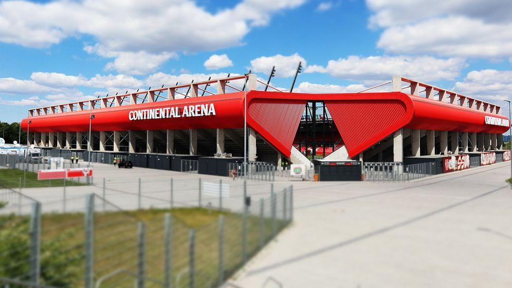 Continental Arena Regensburg. | Bild:pa/dpa/Fotostand