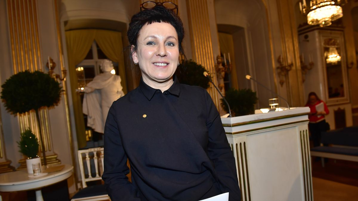 Olga Tokarczuk in Stockholm